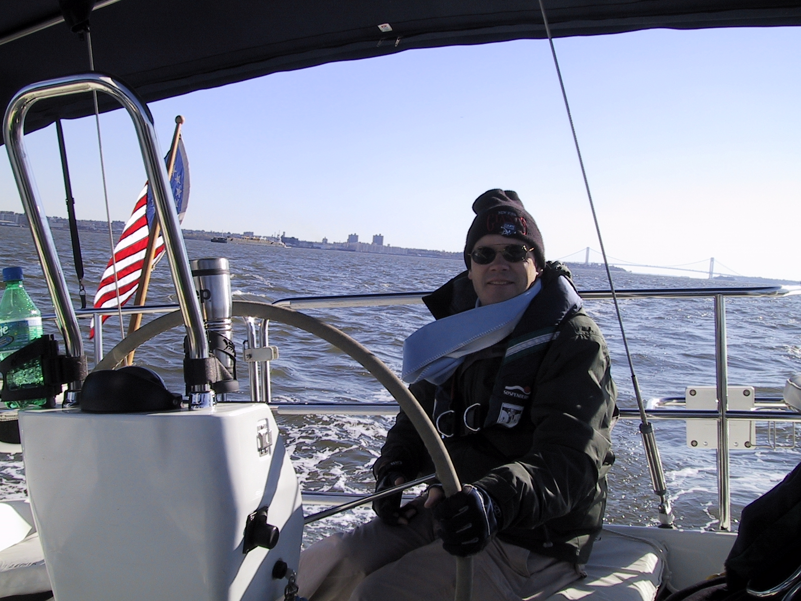 Sandy at the Helm 11-02-05