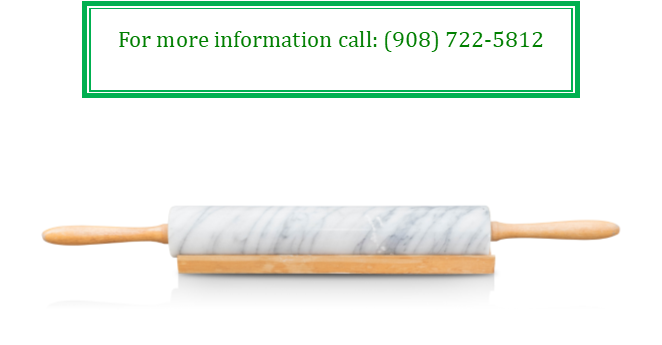 Rolling pin with info